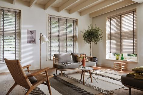 Country Woods hunter Douglas - sala de estar